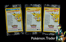 Rare Sealed Moltres Articuno Zapdos Black Star Promo Base Set Pokemon Card 2000