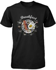 How to Make Bacon and Egg for Breakfast Men's Graphic T-shirt - Recipe Print