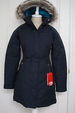 NWT THE NORTH FACE WOMENS ARCTIC PARKA DOWN PUFFER URBAN NAVY BLUE