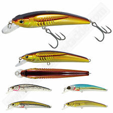 Hard Bait Crankbait Pike Fishing Lures Spinning Minnow BUBBLE EFFECTS 3'' 8cm 7g