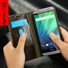 CaseMe Leather For HTC ONE M9 M8 Case Flip Wallet Magnetic Cover Card Holder