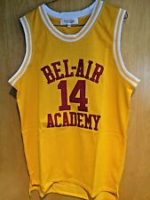Will Smith #14 The Fresh Prince Of Bel-Air Basketball Jersey Sewn S M L XL 2XL