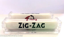2 x GENUINE ZIG ZAG KING SIZE 110mm WIDTH CIGARETTE ROLLING HAND ROLLER MACHINE