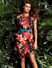 NWT Ann Taylor Jungle Floral Dress size 12