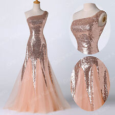 NEW MERMAID Long Prom Dresses PAGEANT WEDDING Evening Party Bridesmaid Ball Gown