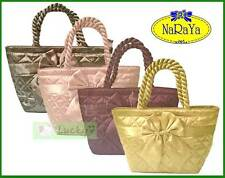 NaRaYa Satin Thai Handbag Shopper Bag Tote
