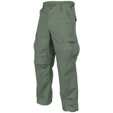 Helikon Genuine Bdu Combat Trousers Mens Cargo Tactical Army Pants Olive Drab Od