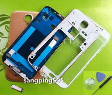 Full Gold Housing Cover+Outer Glass Samsung Galaxy S4 i9500 i9505 i337 i545 R970