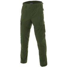 Army Tactical Bdu Ripstop Trousers Mens Combat Work Wear Cargo Pants Olive Green