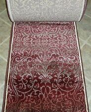 "152915 - Rug Depot Hall and Stair Runner Remnants - 26"" Wide - Red Rug Runner"