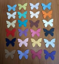 40 PEARLESCENT BUTTERFLY TABLE CONFETTI SPRINKLES WEDDING BIRTHDAY PARTY 5CM 2""