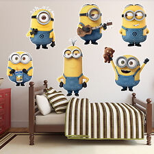 Despicable ME 2 Minion Kids Boys Girls Vinyl Decal Sticker Bedroom Wall Art Gift