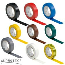 1 5 10 rolls Insulating Tape VDE Electrical Tape Duct Tape Rubber PVC 15mm x 10m