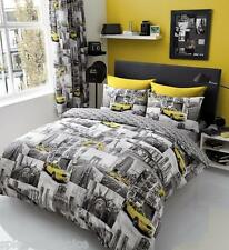 Duvet Quilt Cover With Pillow Cases Bedding Set Single Double King & Super King