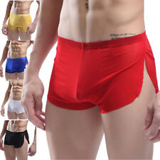 New Sexy Mens Cotton Underwear Boxer Shorts Briefs Trunks Check Underpants