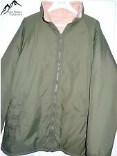 British Army Softie Jacket Thermal Reversible Olive Green/Sand with stuff sack
