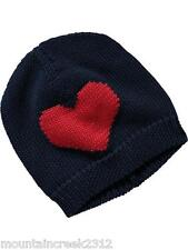 New Knit Beanie Hat HEART Size 0 6 months Old Navy Baby