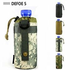 Acu  MOLLE system nylon water bottle kettle packs waist bag holder pouch gear