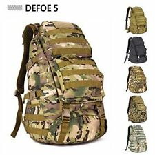 Cp Outdoor Military Tactical Gear Camp Hiking Big Backpack Rucksack 45L MOLLE