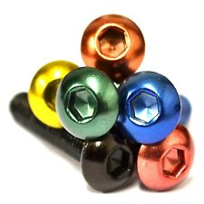 M5 GWR Colourfast® Button Head Screws - A2 Stainless Steel Coloured Socket Bolt