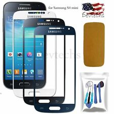 for Samsung Galaxy S4 mini Front Screen Glass Lens Replacement Part Tools Kit