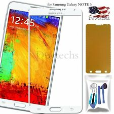 for Samsung Galaxy NOTE 3 Front Screen Glass Lens Replacement Tools Kit White