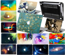 "3D Color Painted Hard Case keyboard cover For Macbook 12""Air Pro 11""13""15""Retina"
