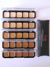 Sleek Makeup Creme To Powder 5 Shades Foundation Palette - Test Your Shade Kit