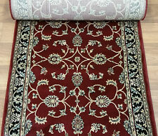 """178571 - Rug Depot Hall and Stair Runner Remnants - 26"""" Wide - Red Rug Runner"""