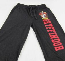 Mens Womens NEW Harry Potter Gryffindor Gray Pajama Lounge Pants S M L XL 2XL