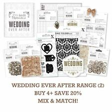 PAPERMANIA WEDDING EVER AFTER Docrafts DIY Stationery/Craft/Decor Range Part 2