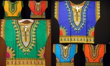 Kids Dashiki Boys African Hippie Blouse Girls Shirts Top WHOLESALE Lot of 6