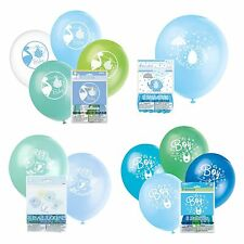 BABY SHOWER BALLOONS - Baby Shower Party Boys, Decorations Latex Helium/Air