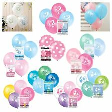 BABY SHOWER BALLOONS - Baby Shower Party Girl, Boy, Unisex, Latex Helium/Air