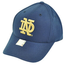 NCAA Notre Dame Fighting Irish American Needle Fitted Hat Cap Navy Blue