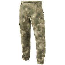 Army Combat Tactical ACU Cargo Trousers Mens Uniform Pants Ripstop MIL-TACS Camo