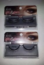 Ardell Glitz & Glam Black Eye Lashes Flirty - Rhinestones or Sparkles -Glitter