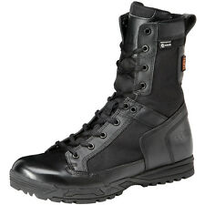 5.11 Skyweight Mens Waterproof Side Zip Army Boots Police Leather Footwear Black