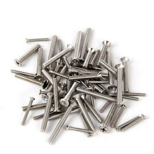 100 PCS M3 Philips Flat Head Screw Alloy Steel Cross Bolts Screws Bolt