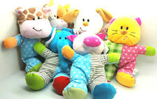 Beverly Hills Polka Dot Plush Rattle Soft Baby Toy in Different Characters