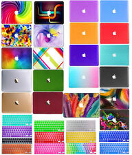 """Matte Rubberized Laptop Hard Case For Macbook Pro Air 11""""12""""13""""15""""+Silicone Key"""