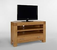 FULLY ASSEMBLED Living Room Thor Living Solid Oak TV Unit TV's Up to 40