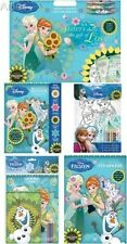 Disney Frozen Fever, colouring stickers crayons, stickers,- New 2015
