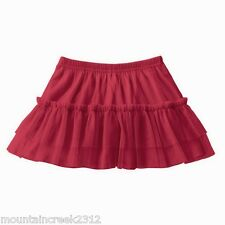JUMPING BEANS Girls ~ Ruffle Tulle Layered Skirt ~ Red ~ 18 months ~ NEW