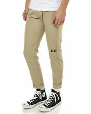 DICKIES Skinny straight double knee pant DESERT SAND WP811 KHAKI work PANTS