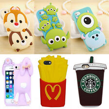 Cute Cartoon Animal Rabbit Soft Silicone Case Cover for Apple iPhone 6 5S 6Plus