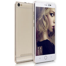 "5MP+5MP QHD Ultra Slim 5.0"" Android 4.4 Smartphone Mobile Cell Phone 3G GSM GPS"