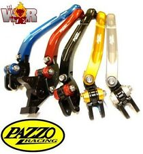 BMW K1300 1600 ALL 09-15 PAZZO RACING FOLDING Lever Set ANY Color & Length Combo