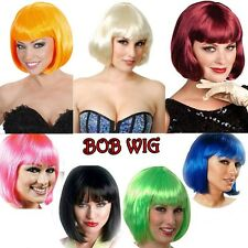 Wholesale 30%off Bob Costume Wig Short Straight Hair Fashion Party Dress US Post