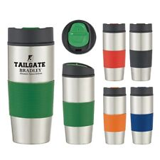 36 Stainless Steel Coffee Tumblers Personalized with your Logo in Bulk item 5787